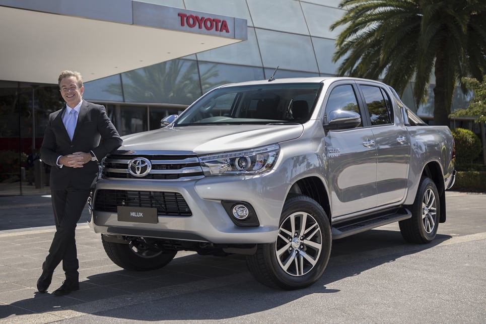 Toyota HiLux is Australia's best-selling vehicle... again ...