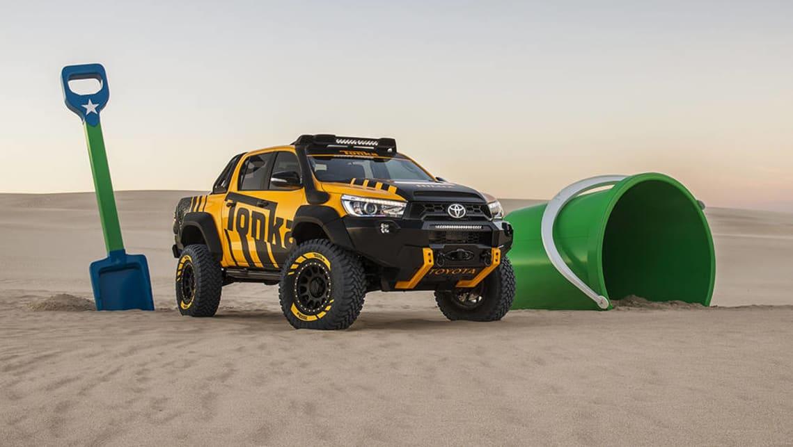Toyota reveals HiLux TRD kit and Tonka concept - Car News ...