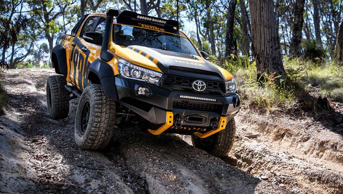 Toyota Reveals Hilux Trd Kit And Tonka Concept Car News