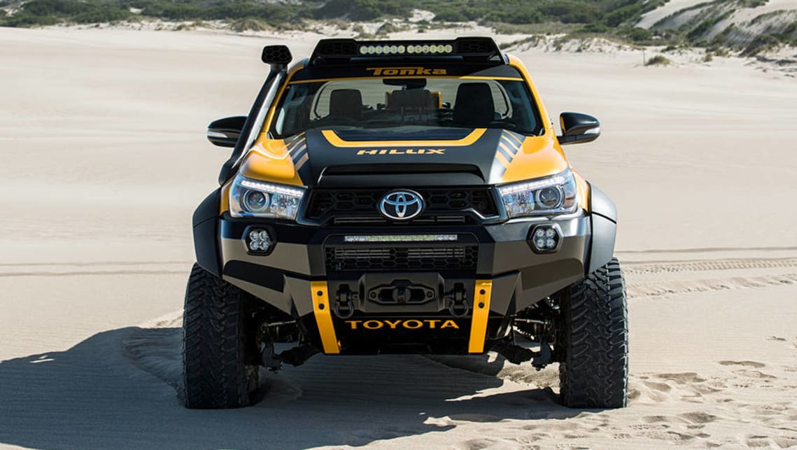 Toyota Reveals Hilux Trd Kit And Tonka Concept Car News
