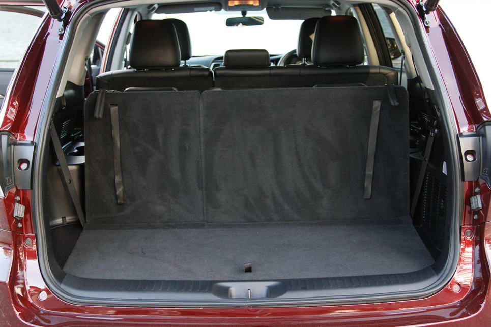 Interior Boot Space Starts At 195 Litres With All Seats In Play. (GXL AWD
