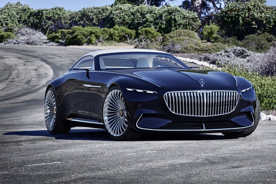 vision mercedes-maybach 6 cabriolet unveiled at pebble beach - car