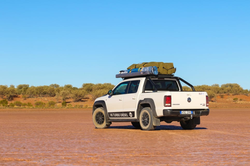 The Amarok V6 is one of the neatest and cleanest designs in the 4WD dual cab unit mix.