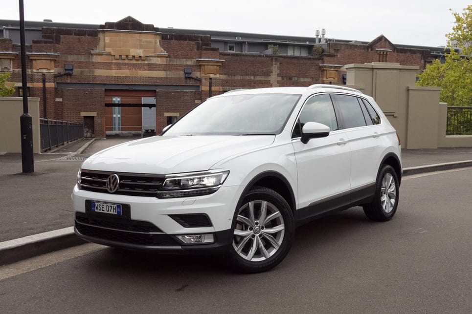 Volkswagen Tiguan 162tsi Highline 2017 Review Carsguide