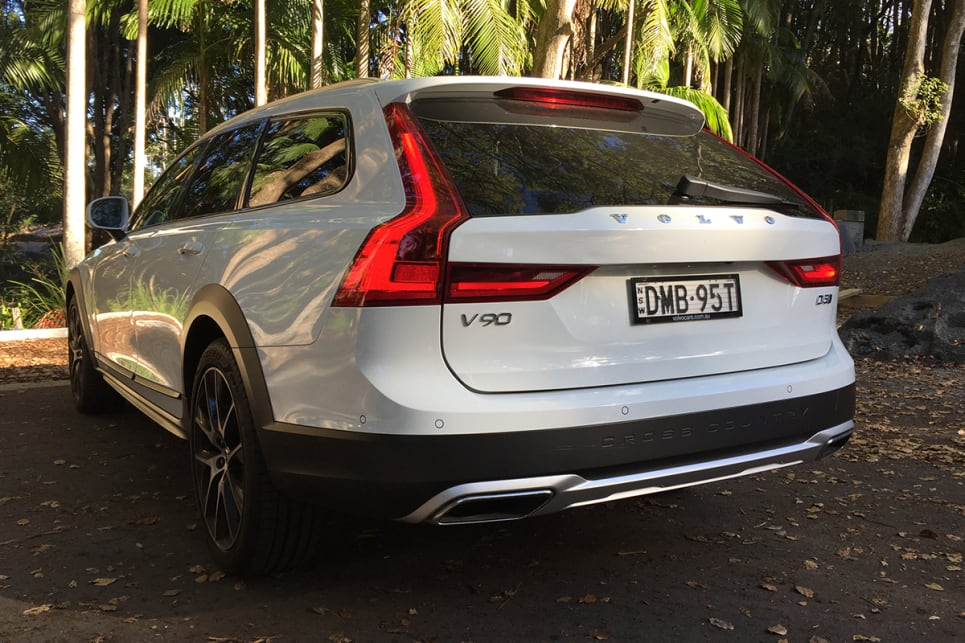 The V90 Cross Country is built on practicality, offering the ideal option for people who don't need an SUV but would like space and proficiency on secondary roads, too. (image credit: Vani Nadioo)