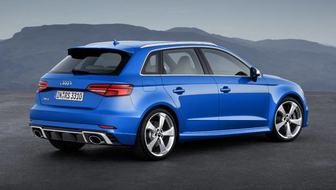 2018 Audi RS3 Sportback charges into Geneva - Car News ...