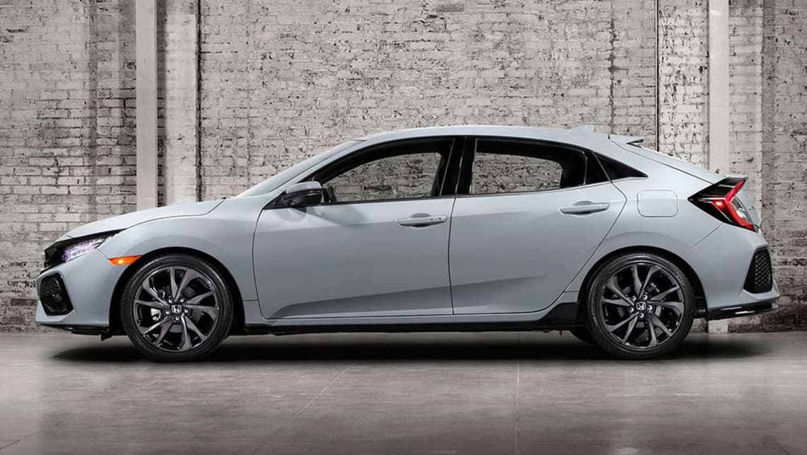 2017 Honda Civic Hatch Revealed Car News Carsguide