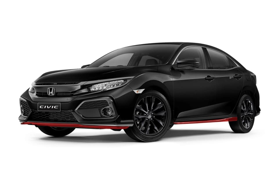 honda civic 39 red edition 39 pack 2017 pricing and spec. Black Bedroom Furniture Sets. Home Design Ideas