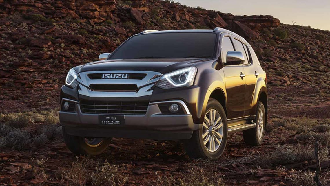 Isuzu Mu X 2017 New Car Sales Price Car News Carsguide