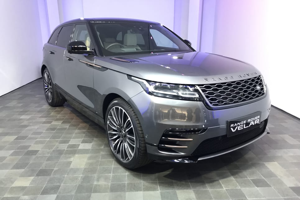 d5b50fab0aa ... The new Velar sits between the Range Rover Evoque and Range Rover  Sport. (image