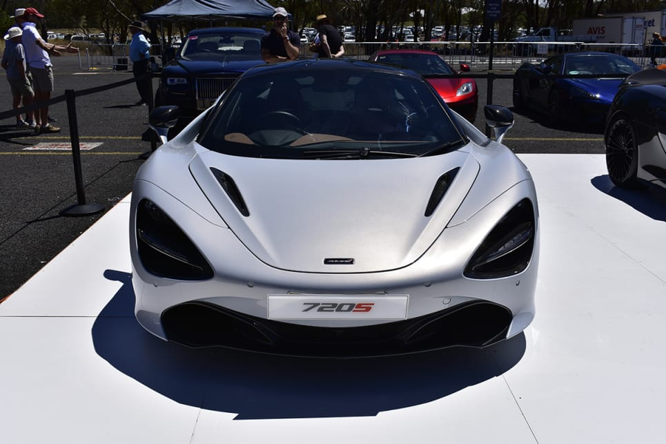 Do the headlights make the 720S look a bit Alien?(image credit: Mitchell Tulk)