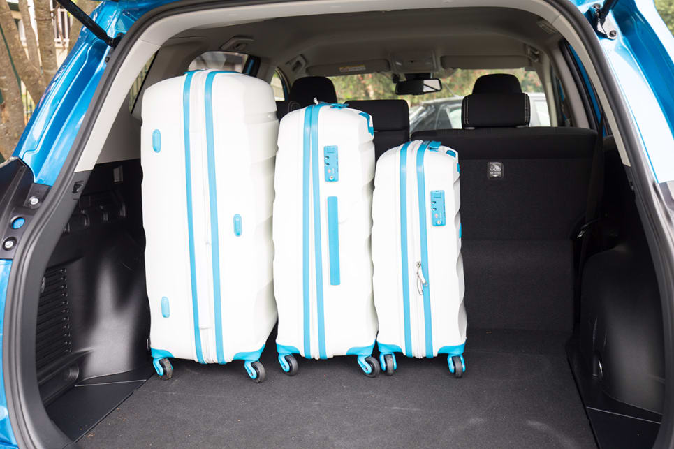 the boot is 174 litres bigger than the Mazda CX-5's. (image credit: Dean McCartney)
