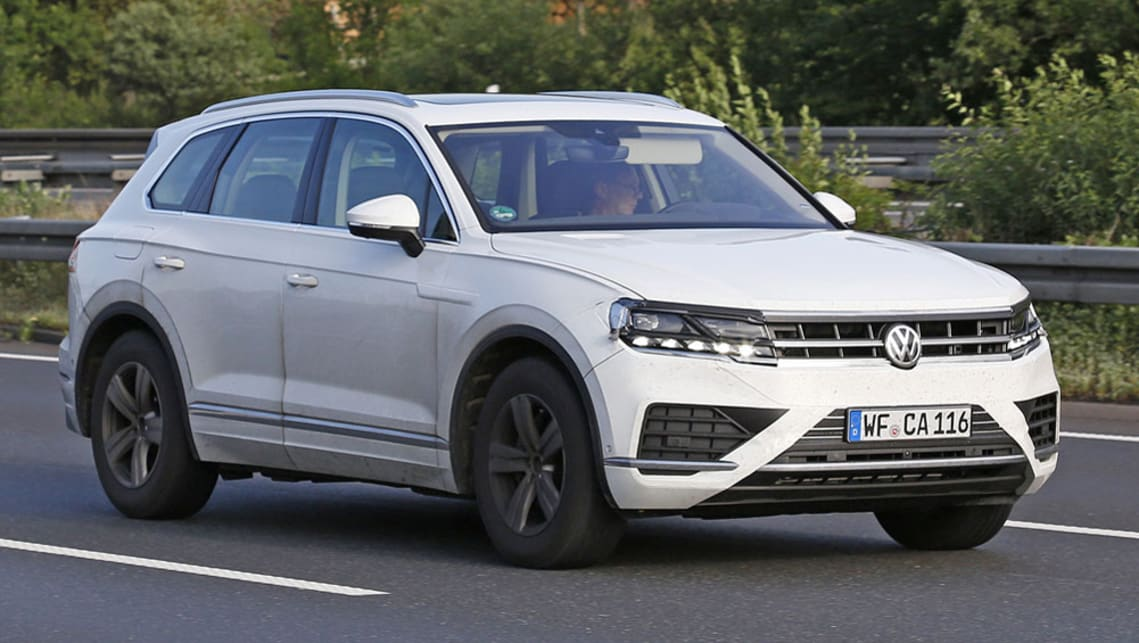 Volkswagen Touareg 2018 spied testing - Car News | CarsGuide