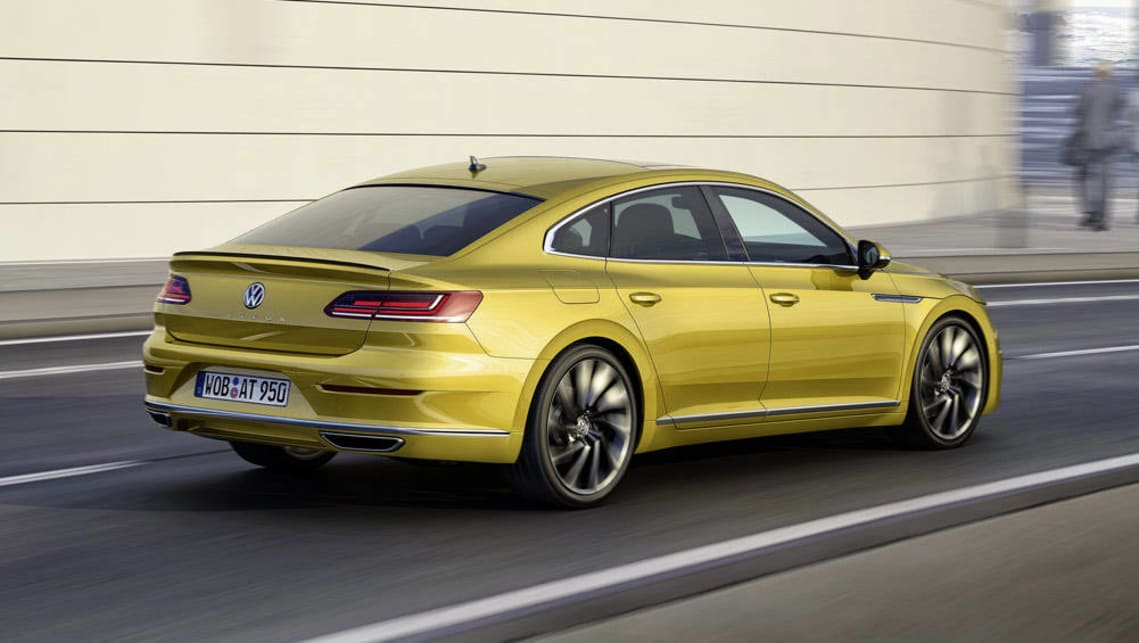 Dsg Mustang >> 2017 Volkswagen Arteon revealed at Geneva - Car News | CarsGuide