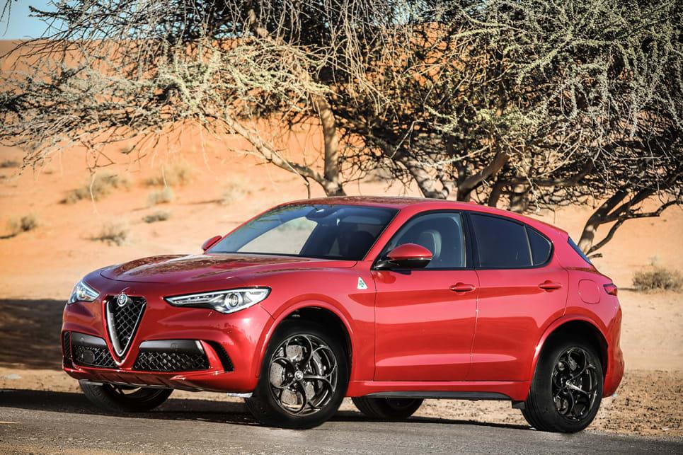 Alfa Romeo Stelvio Quadrifoglio 2018 Review Carsguide