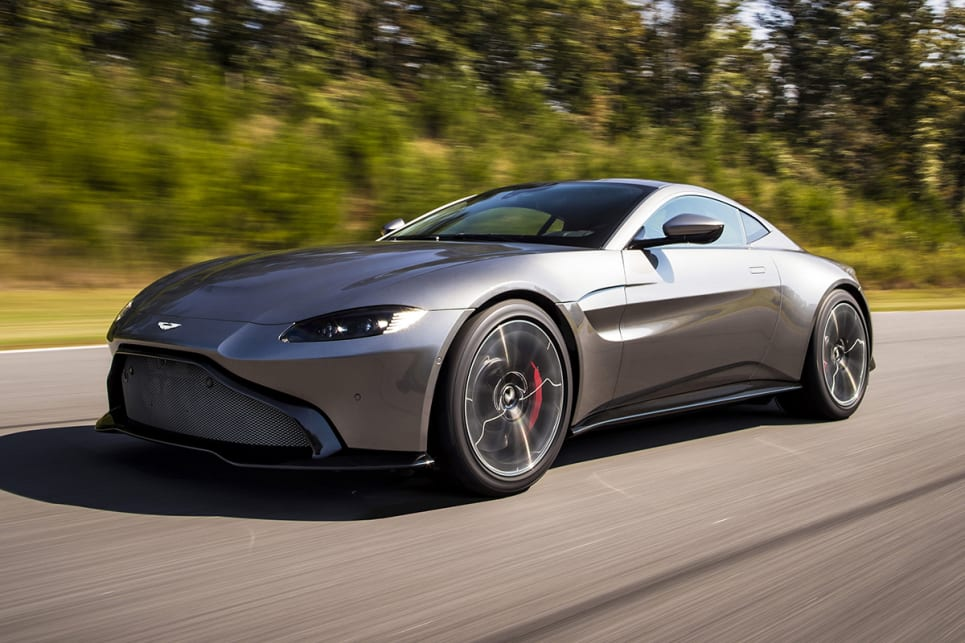 aston martin vantage 2018 revealed car news carsguide. Black Bedroom Furniture Sets. Home Design Ideas