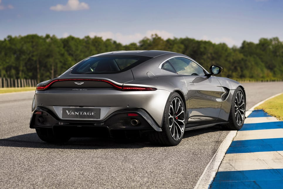 Awesome The New Vantage Is An In House Design, Taking Inspiration From The DB10 And  Track Only Aston Martin Vulcan.