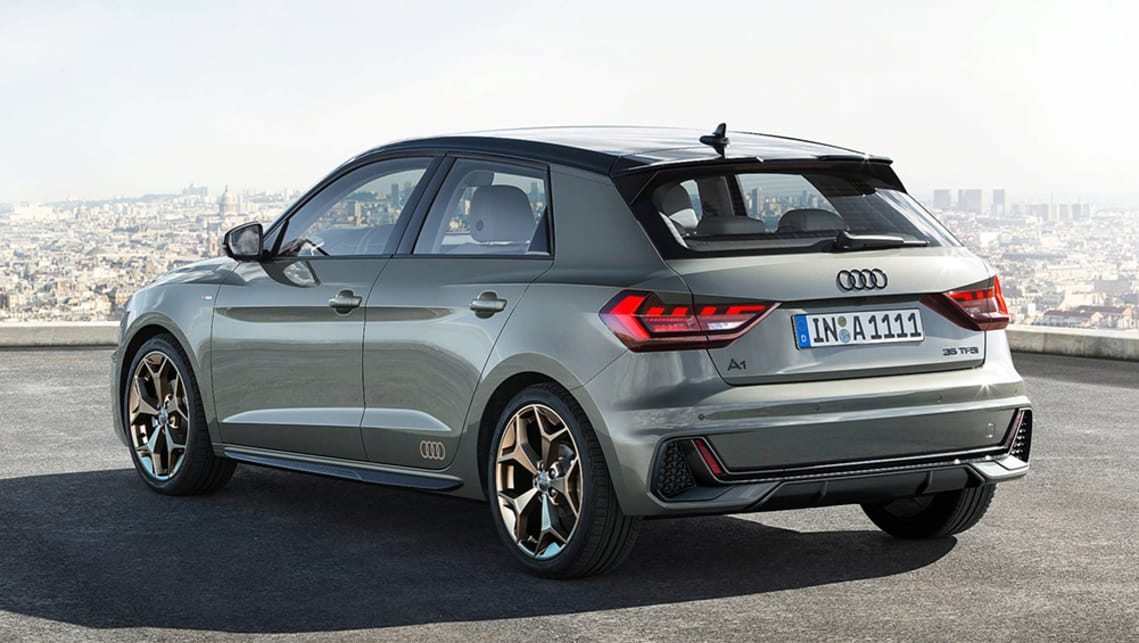 audi a1 sportback 2018 revealed car news carsguide. Black Bedroom Furniture Sets. Home Design Ideas