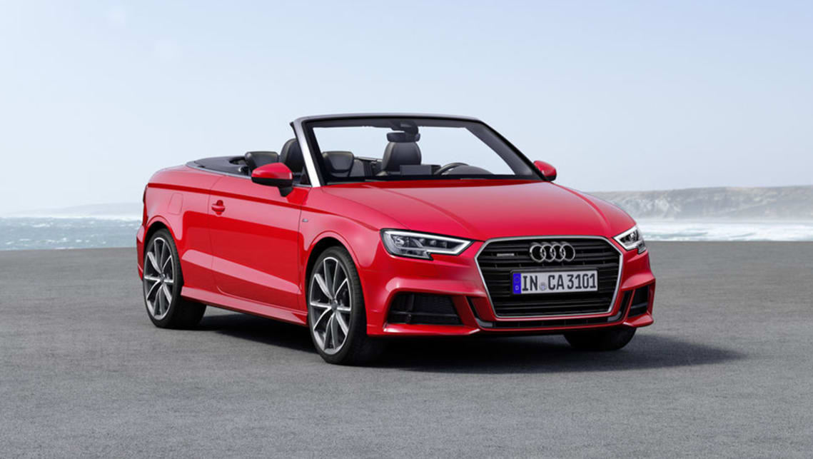 audi a3 cabriolet 2018 review snapshot carsguide. Black Bedroom Furniture Sets. Home Design Ideas