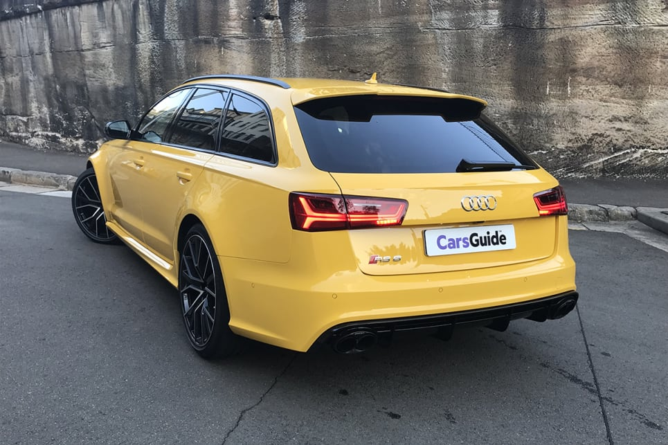 Audi RS Review Avant Performance CarsGuide - Audi rs6 2018