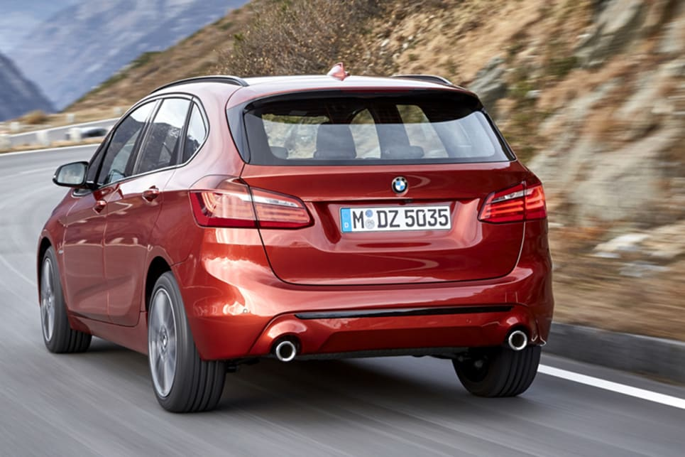 The M Sport variants get their own front and rear apron style