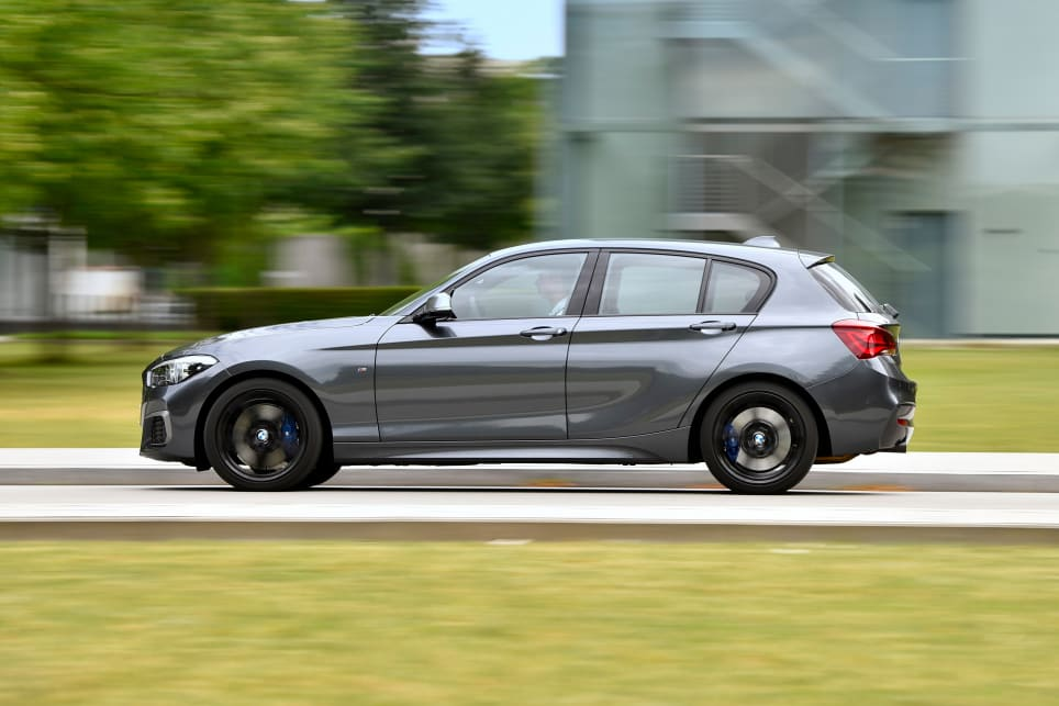 2018 BMW 1 Series. (M140i variant shown)