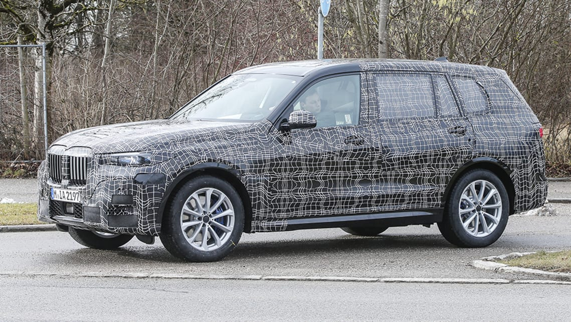 bmw x7 2019 spied testing car news carsguide. Black Bedroom Furniture Sets. Home Design Ideas