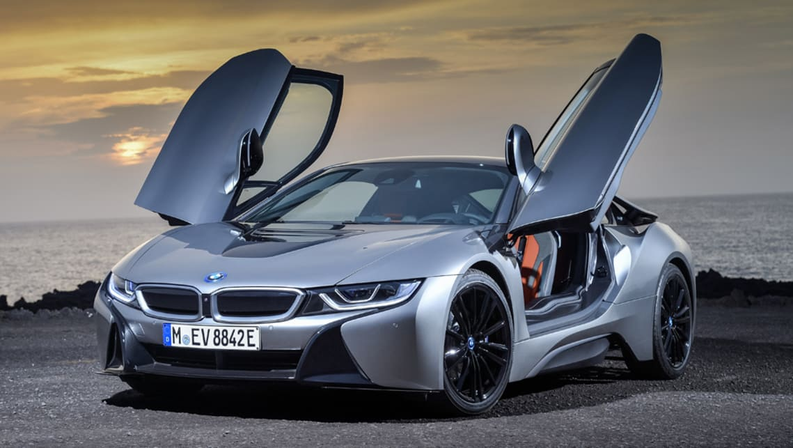 Bmw I8 2018 Revealed In La Car News Carsguide