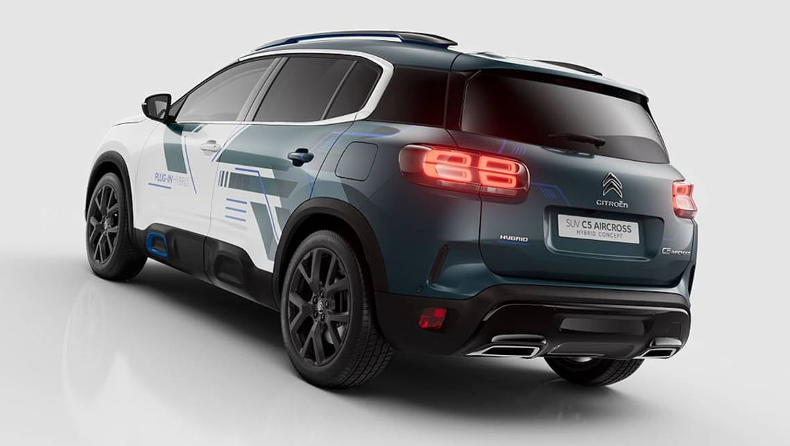 A production version of the Hybrid may be on the cards by the end of 2019 to sit atop the C5 Aircross range.