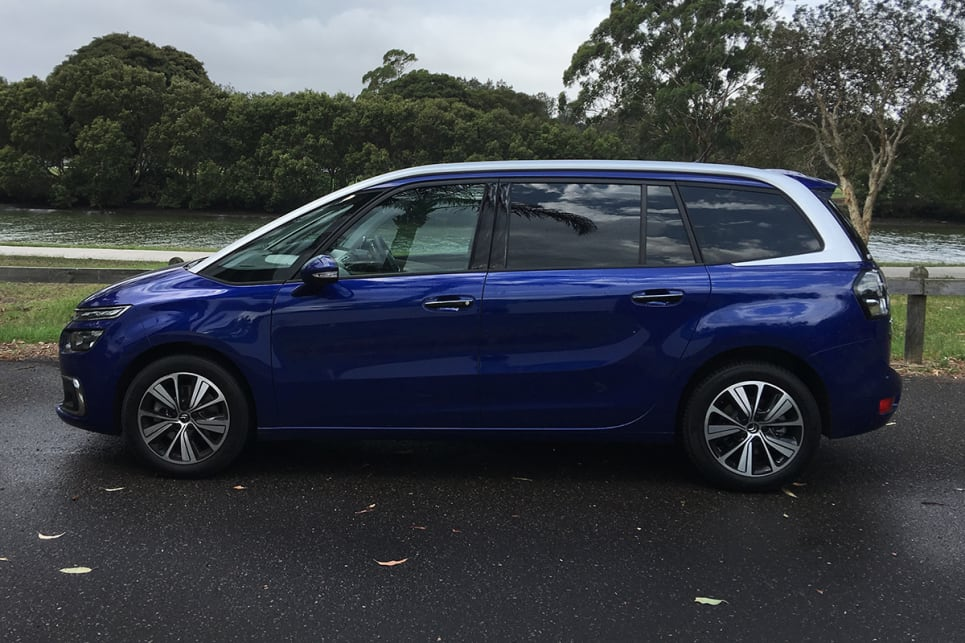 The two-tone paint of our test car lends the Picasso a funky, youthful look. (image credit: Andrew Chesterton)