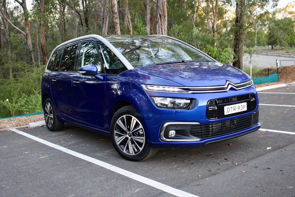 citroen grand c4 picasso 2018 review petrol carsguide. Black Bedroom Furniture Sets. Home Design Ideas