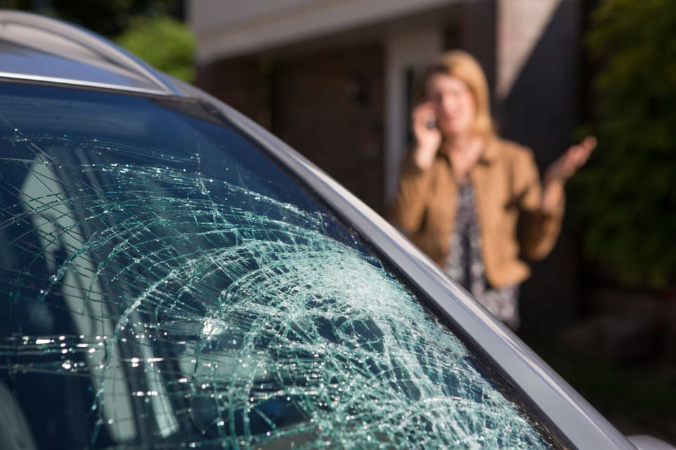 Is it illegal to drive with a cracked windscreen? - Car Advice