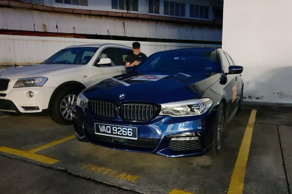 2.0-litre BMW 3- and 5-series are a common sight in Malaysia...