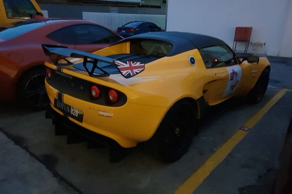 Whoever was planning to drive 1312kms in a track-oriented Lotus Elise 250 Cup was clearly insane.