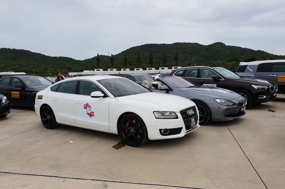 Audis are a rare sight in Malaysia. Likely due to the tax exemptions for locally-assembled Mercs and BMWs.