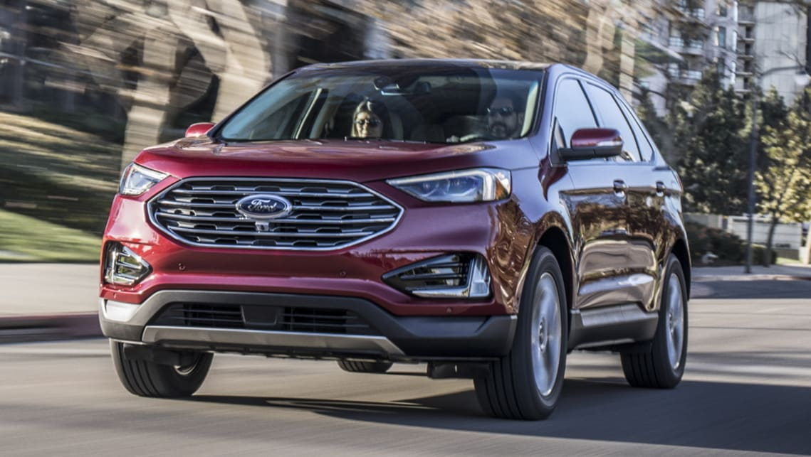Detroit Auto Show: Ford enters performance SUV segment with Edge ST
