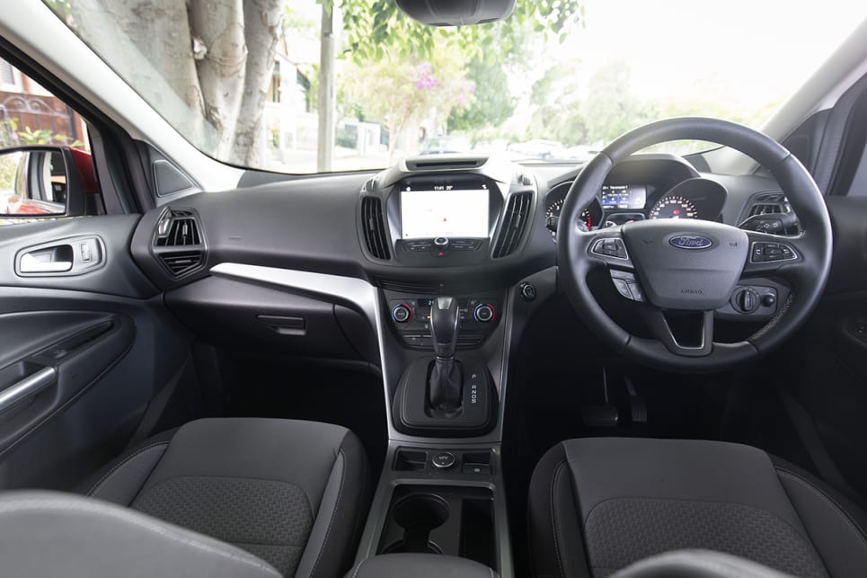 ford escape 2018 inside. it\u0027s not huge on the power with a 1.5 litre \u0026#039;ecoboost\u0026# ford escape 2018 inside
