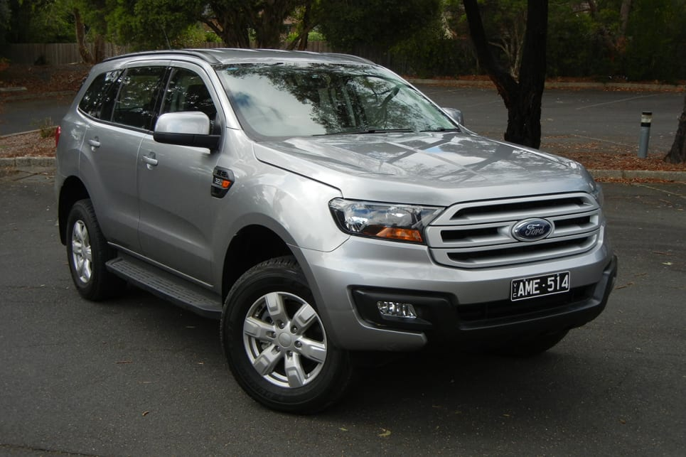 Ford Everest Ambiente 2018 Review Snapshot Carsguide