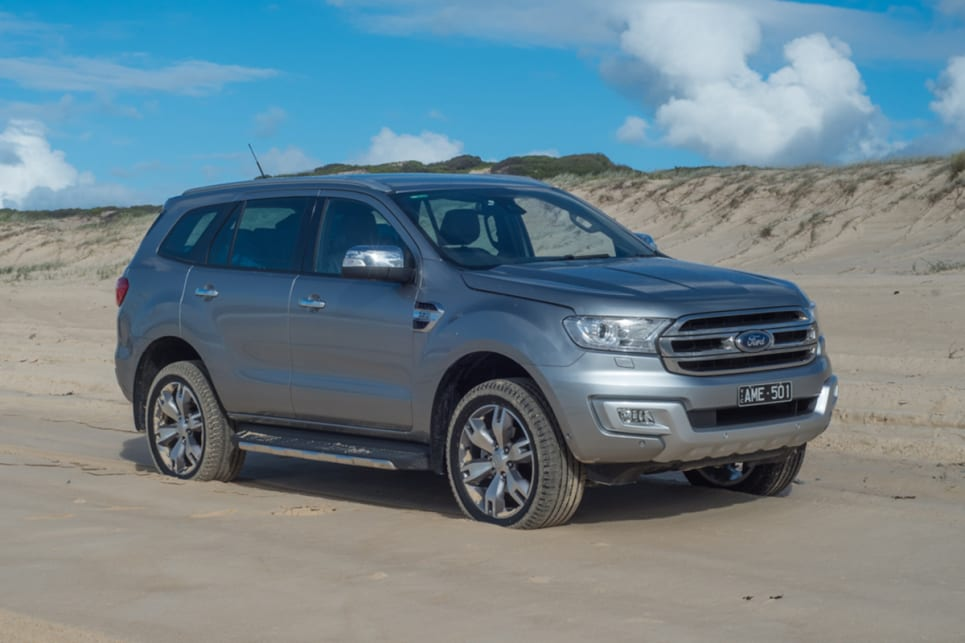 Ford Everest Titanium 4wd 2018 Off Road Review Carsguide