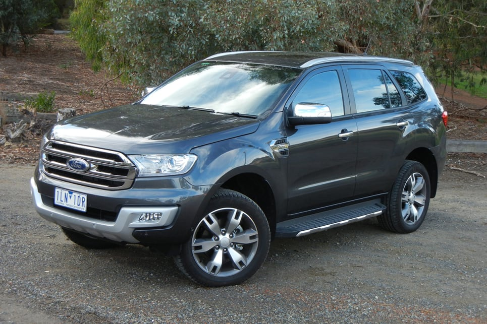 Ford Everest 2018 Release Date >> Ford Everest Titanium 2018 Review Snapshot Carsguide