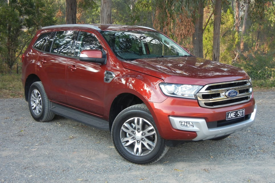 Ford Everest Trend 2018 Review Snapshot Carsguide