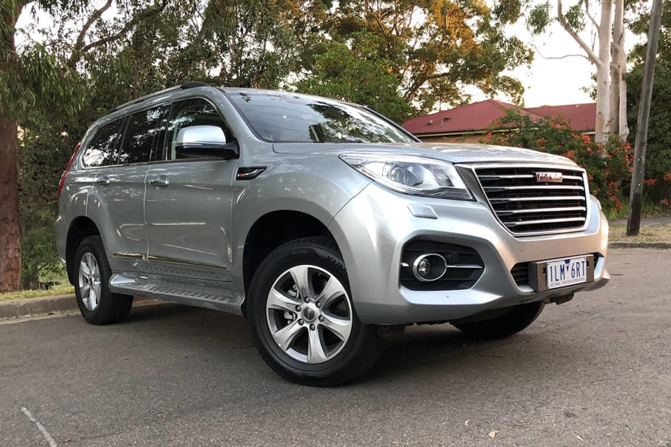 Bigger than the Great Wall: The Haval certainly doesn't lack for presence, but it certainly ain't pretty.
