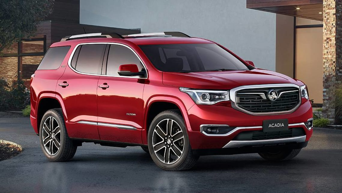 Holden Acadia 2018 officially revealed - Car News | CarsGuide