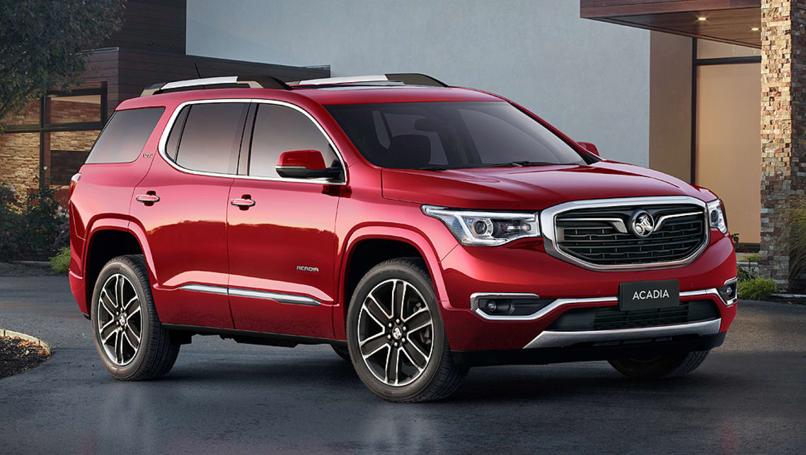 Holden Acadia 2019 specs revealed - Car News | CarsGuide