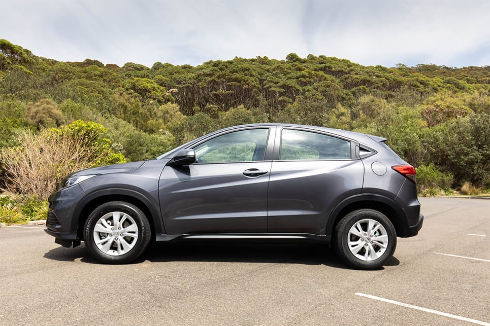 The Honda HR-V is the longest of this group at 4348mm. (image credit: Dean McCartney)
