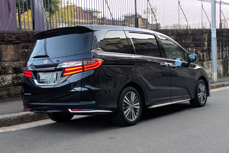 This fifth-generation Odyssey looks like it has been hit with the uncool stick. (image credit: Dan Pugh)