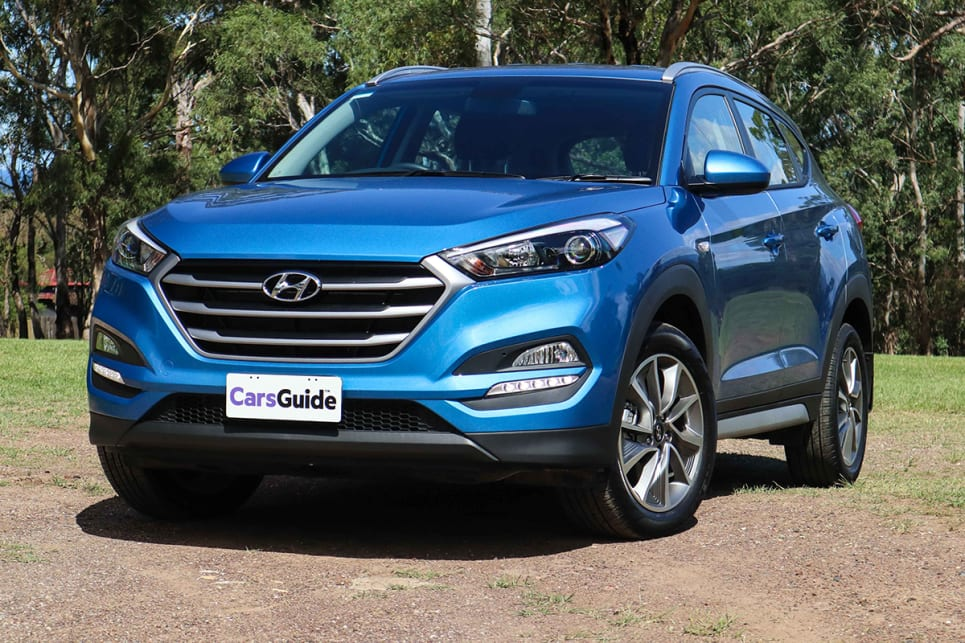 The Tucson is one of the most handsome cars currently on the road in any category. (image credit: Tim Robson)