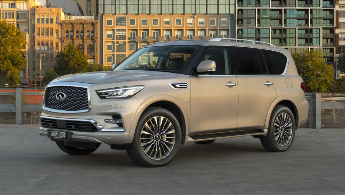 infiniti qx80 2018 pricing and spec confirmed car news carsguide. Black Bedroom Furniture Sets. Home Design Ideas