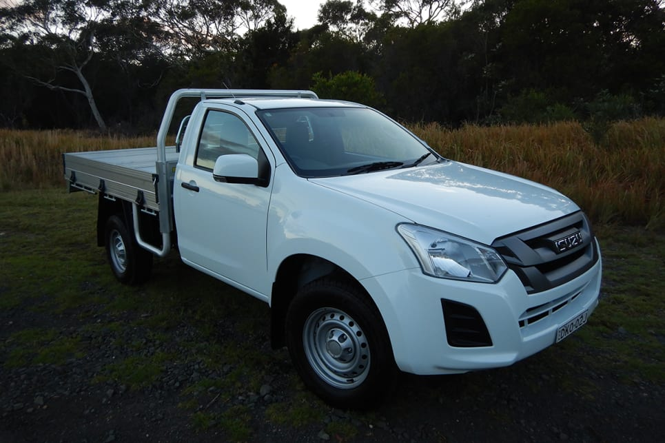 Hard and not very fast: Isuzu has updated its old-school working ute. It's still old school.