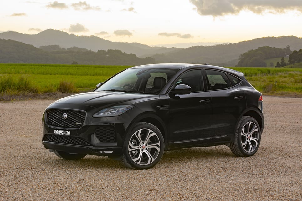 jaguar e pace first edition 2018 review snapshot carsguide. Black Bedroom Furniture Sets. Home Design Ideas